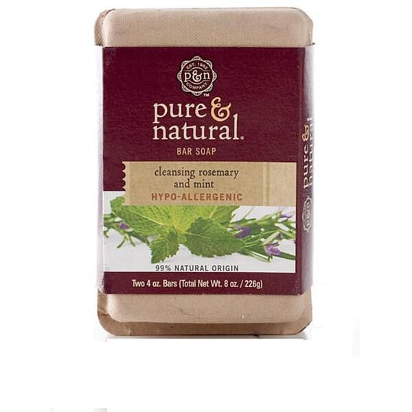 Pure and natural bar soap
