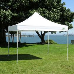 Traveler Commercial White 10'x10' Canopy