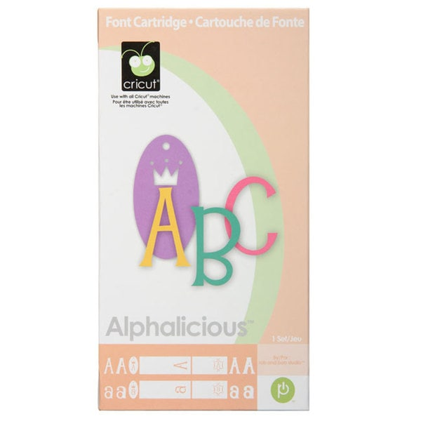 Cricut Alphalicious Cartridge