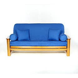 Lifestyle Covers Burgandy Full Size Futon Cover Free