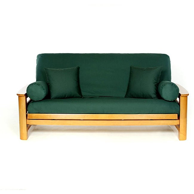 Lifestyle Covers Hunter Green Full-size Futon Cover - Thumbnail 0