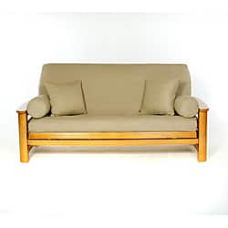 Lifestyle Covers Khaki Full-size Futon Cover|https://ak1.ostkcdn.com/images/products/5078121/Khaki-Full-size-Futon-Cover-P12936345.jpg?impolicy=medium
