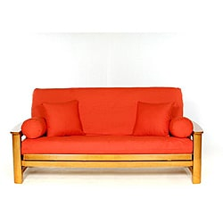 Lifestyle Covers Orange Full-size Futon Cover