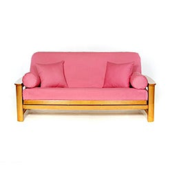 Roseblush Pink Full-size Futon Cover
