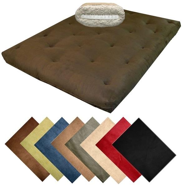 Copper Grove Wallowa-Whitman Queen 10-inch Cotton Futon Mattress