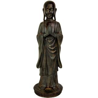 Standing 22-inch Japanese Zen Monk Statue (China)