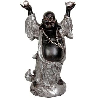Handmade Standing 17-inch Prosperity Buddha Statue (China)