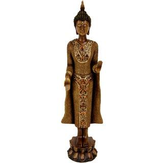 Handmade Standing 20-inch Thai Buddha Statue (China)