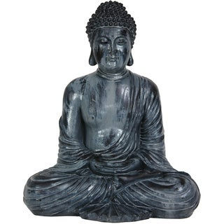 Japanese 12-inch Sitting Gautama Buddha Statue (China)