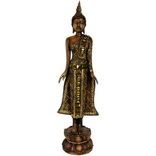 Standing 22.5-inch Thai Buddha Statue (China)