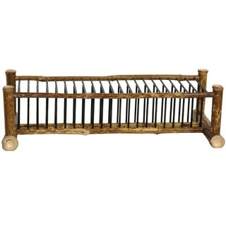 Japanese Bamboo 18-inch Horizontal CD/ DVD Rack (China)