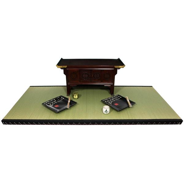 Handmade Rush Grass Full-size Tatami Mat (China)