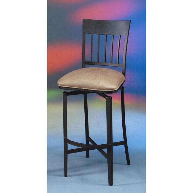 Aspen Swivel Rust/Brown Indoor Barstool