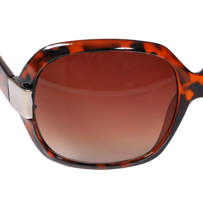 Women's Journee Oversized Plastic Sunglasses - Thumbnail 2
