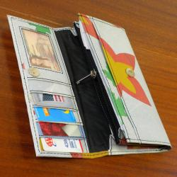 Recycled Plastic 'The Paris' Wallet (India) - Thumbnail 2