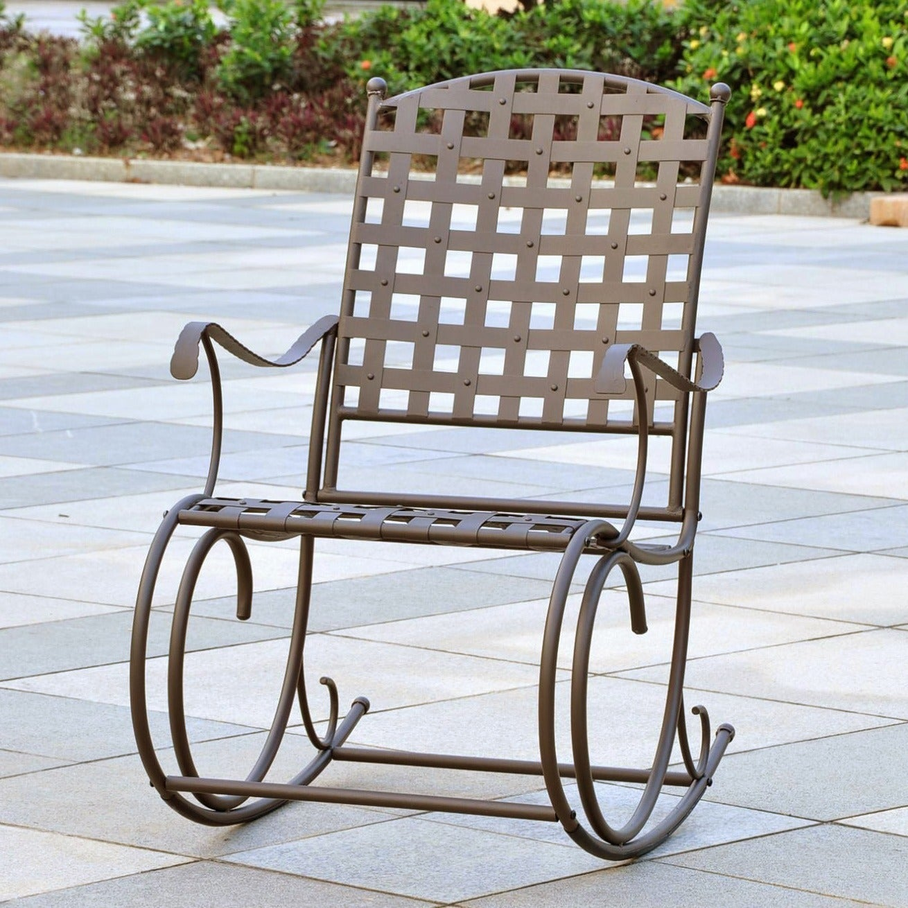 Peachy International Caravan Sante Fe Nailhead Rocker Uwap Interior Chair Design Uwaporg