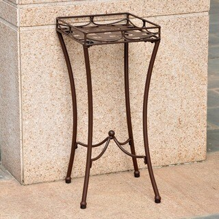 International Caravan Santa Fe Iron Plant Stand