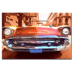 '1957 Chevy' Gallery Wrapped Canvas Art