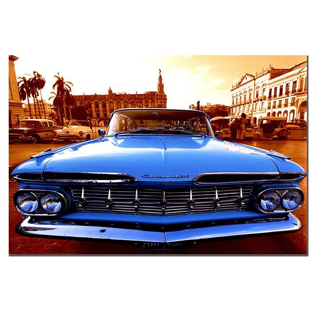 '1959 Chevy El Camino' Gallery Wrapped Canvas Art