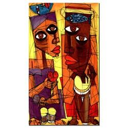 'Al Sol del Sentimiento' Gallery Wrapped Canvas Art