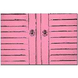 Patty Tuggle 'Hot Pink Shabby Chic' Art