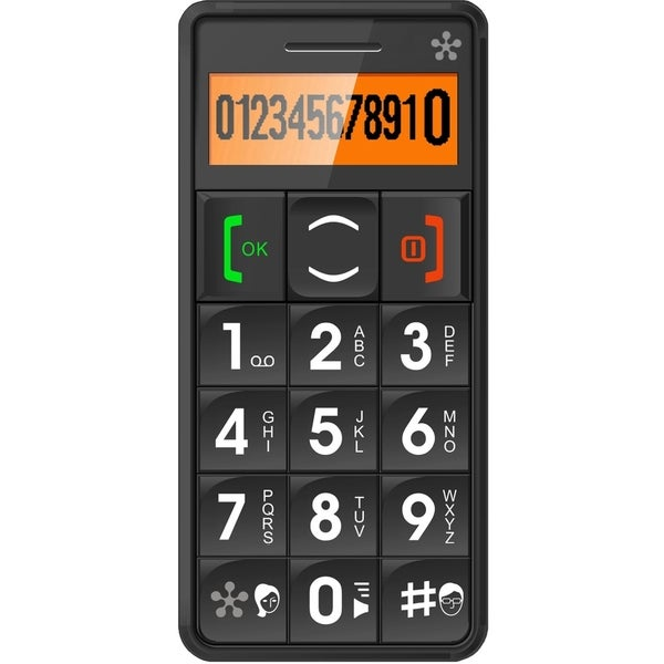 """Just5- Mobile Handset GSM Compatible Unlocked"""" Black"""""""