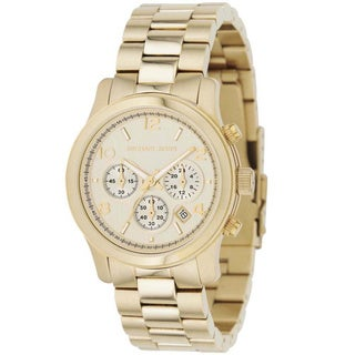 Michael Kors Women's MK5055 'Runway' Stainless Steel Watch