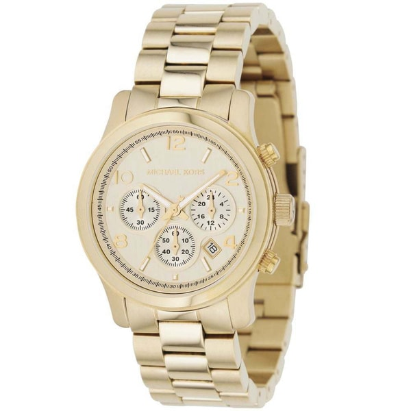 95425290c4f0a Shop Michael Kors Women s MK5055  Runway  Stainless Steel Watch ...