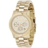 Michael Kors Women's  'Runway' Stainless Steel Watch - Gold