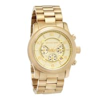 Michael Kors Men's  Yellow Goldtone Bracelet Watch