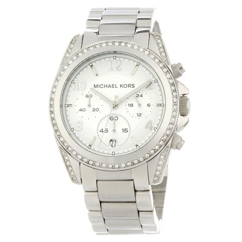 Michael Kors Women's Blair Glitz Runway Watch