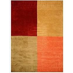 EORC Hand-tufted Wool Multi Durado Rug (4' x 6')