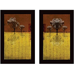 Miguel Paredes 'Tree III & IV' 2-piece Canvas Art Set
