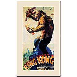 'King Kong' Canvas Poster Art