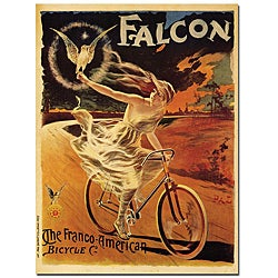 Pal 'Falcon' Gallery-wrapped Canvas Poster