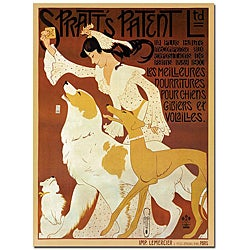 Auguste Toobill 'Spratts Patenent LTD' Canvas Poster
