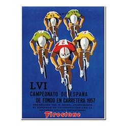Dorival 'Campeonato de Espana' Gallery-wrapped Canvas Poster