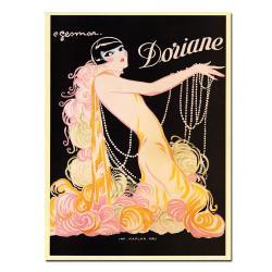 E. Gesmar 'Doriane' Canvas Poster