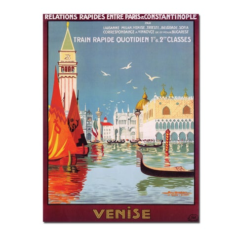 Georges Dorival 'Venise' Small Poster