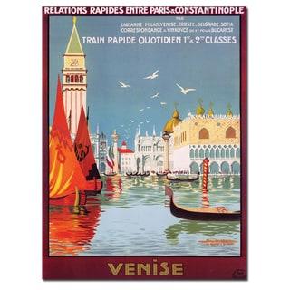 Georges Doriva 'Venise' Canvas Poster