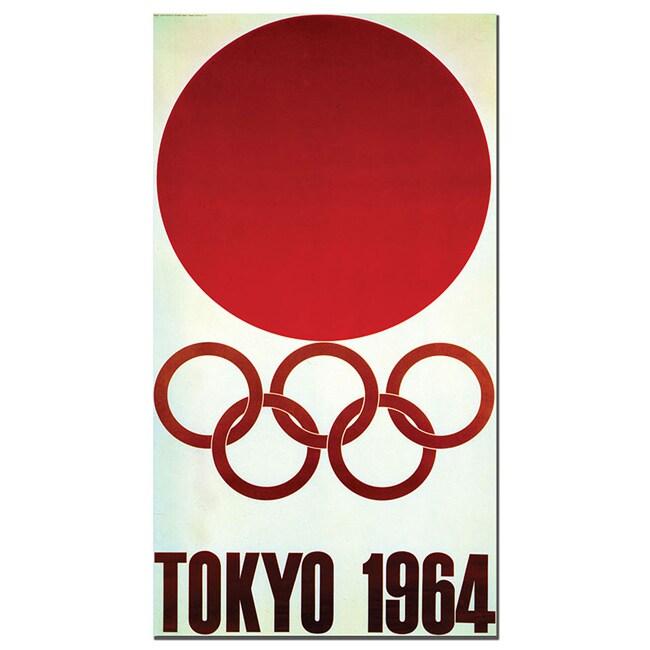 'Tokyo 1964' Canvas Poster