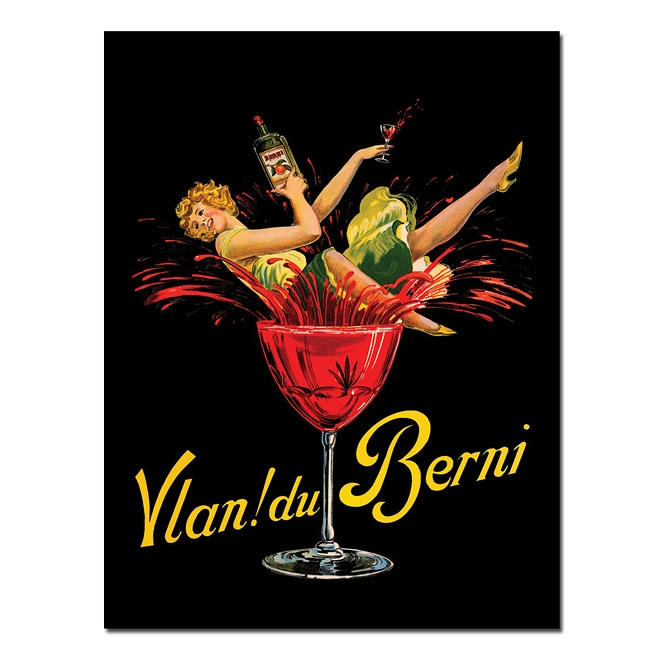 'Vlan Du Bernie' Canvas Poster
