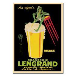 G. Piana Dorival 'Bieres Brasserie Lengrand' Canvas Poster - Thumbnail 1