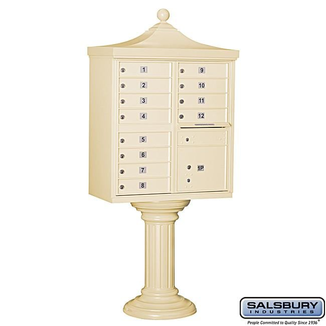 Salsbury 3300R Regency Decorative Cluster Mail Box Unit - USPS Access
