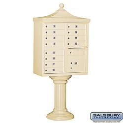 Salsbury 3300R Regency Decorative Cluster Mail Box Unit - USPS Access - Thumbnail 1