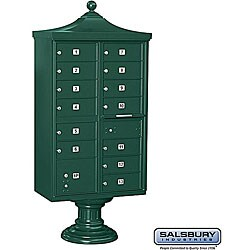 Salsbury Regency Decorative USPS Access Cluster Mail Box Unit