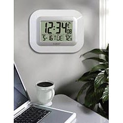 La Crosse Technology WT-8005U-W Atomic Clock with Temperature - Thumbnail 1