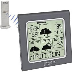 La Crosse Technology Weather Direct WD-3105U Internet-powered 4-day Weather Forecast Station