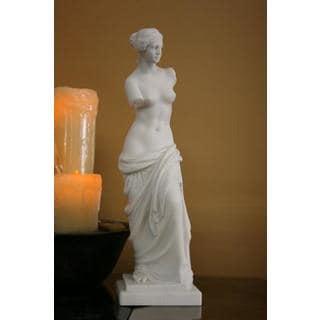 White Bonded Marble Aphrodite of Melos (Venus di Milo) Statue