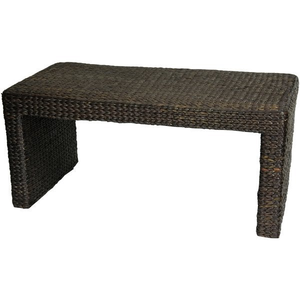 Amazing Handmade Rush Grass Coffee Table (China)
